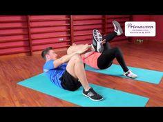 Ćwiczenia odchudzające na brzuch - YouTube
