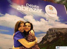 más abrazos en #navarra #fitur