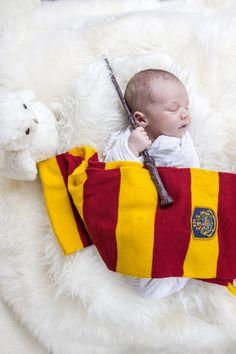 Harry Potter Themed Newborn Photo Session
