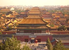 Forbidden City, China.  Accomplished 2013.
