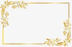 Golden noble frame PNG and Clipart Light Background Images, Background Images Wallpapers, Wedding Background Images, Frame Border Design, Page Borders Design, Floral Frames, Simple Photo Frame, Certificate Background, Wedding Borders