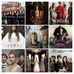 10 series históricas que he visto y te puedo recomendar