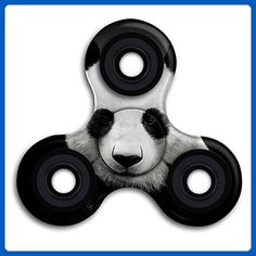 Xianjingshui Panda Bear Finger Spinner Finger Toy Funny Fidget Toy For Adults And Kids Metal Bearing Time Killer Reduce Stress Relieve ADHD - Fidget spinner (*Amazon Partner-Link)
