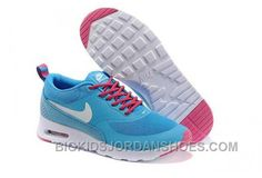 Nike Air Max Thea Womens Blue White Free Shipping DiNZK 40b4d9390