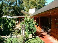 Maynard and Katharine Buehler House. 1948. Orinda, California. Usonian Style. Frank Lloyd Wright