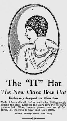 Imitating celeb style is nothing new. Many ladies wanted that Clara Bow look.