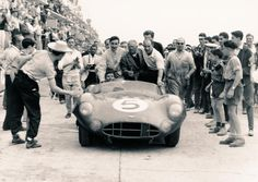 June 21, 1959, Le Mans: Roy Salvadori/Carroll Shelby win for Aston Martin. ©LAT #LeMansLegends