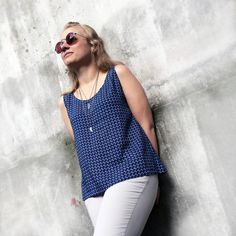 Get previous the most recent season with our assortment of women's tops. From creep tops to really going out top and from the shoulder blade styles, come across our line of fashion garments here. tops for women casual Sewing Clothes Women, Clothes For Women, Clothing Items, Clothing Patterns, Dress Outfits, Fashion Outfits, Diy Tops, Women's Tops, Dress Shirts For Women