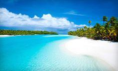 The Cook Islands, in full spendor...