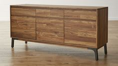 Lakin Recycled Teak Sideboard | Crate and Barrel