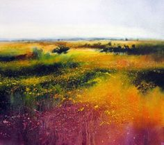 Sublime colours here in this painting by David Parfitt.