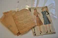 sewing workshop: storing patterns.   via Elegant Musings.