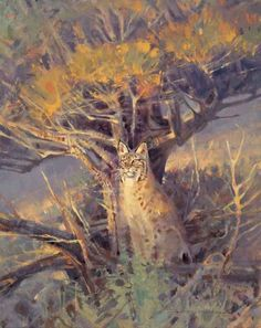 """""""The Observer"""" by Jim Morgan 16"""" high X 12"""" wide, oil on linen - Wood River Fine Arts"""