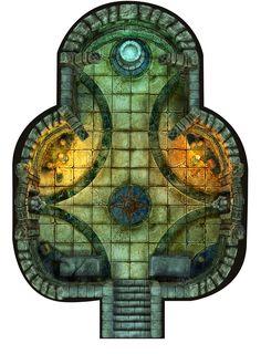 Hall of Fallen Angel - Fountain