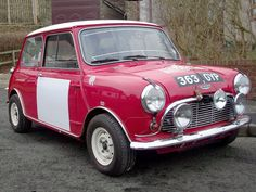 1963 Austin Mini Cooper S Rally Car,built by BMW