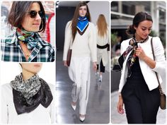 How to wear a silk scarf - How to Wear