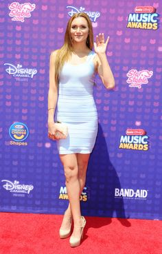 Alyson Stoner at the Radio Disney Music Awards April, Alyson Stoner, Cheaper By The Dozen, Disney Music, Beautiful Voice, Red Carpet Fashion, Music Awards, Bodycon Dress, Celebs, Pretty