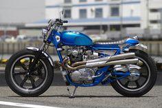 ϟ Hell Kustom ϟ: Yamaha XS650 By Motor Rock