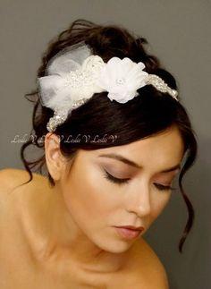 Crystal Beaded Bridal Headband & Beige/Ivory/Nude Brooch Lace Tulle Bridal Clip Bridal Gift 111-112 null,http://www.amazon.com/dp/B00GTVOOH4/ref=cm_sw_r_pi_dp_WUG1sb08K35ADGTE