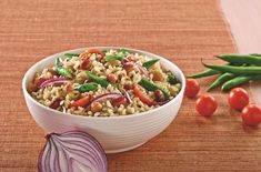 Brown Rice and mixed bean salad - SunRice