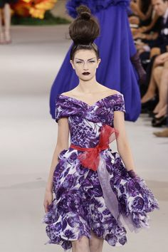Christian Dior at Couture Fall 2010 - StyleBistro