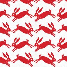 red_rabbit fabric by holli_zollinger on Spoonflower - organic cotton knit