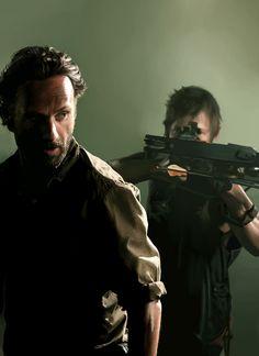 Rick & Daryl by Amanda Tolleson
