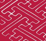 Alan Campbell Collection - Quadrille - Saya Gata Magenta Lines on Tint AC207-601