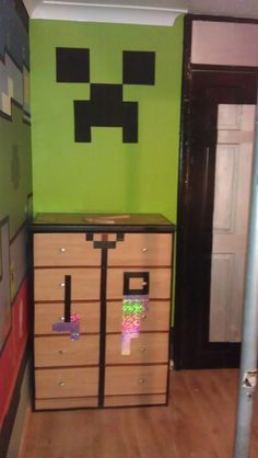 Kids Bedroom Minecraft minecraft boys bedroom ideas- easy diy minecraft shelves