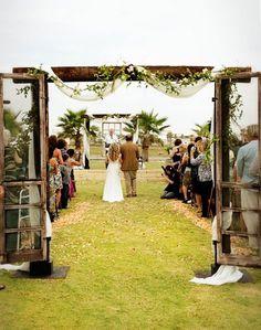 diy wedding arches doors - Google Search