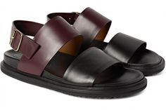 a941265c724 Marni Two Tone Leather Sandals e1457381246310 800x535 Strap In  6 Stylish Leather  Sandals Sapatos