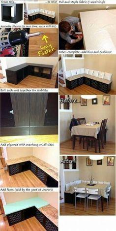 33 ideas for kitchen corner bench decor