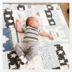 Quilt featuring Fair Isle fabrics by @sew2diy4girl