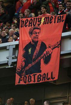 Liverpool Kop Banner by On Deviantart Liverpool Kop, Liverpool Football Club, Football Team, Extreme Metal, Horror Show, Heavy Metal, Fangirl, Soccer, Banner Ideas