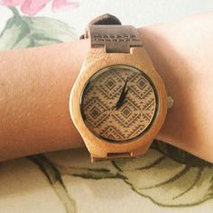 Check out our Tañag bamboo wood watch with its unique tribal design. It is made from 100% natural bamboo wood and so, it's very eco-friendly and sustainable. Only for $65 at www.relomoto.com/products/tanag. Free shipping worldwide! Custom engraving services available!