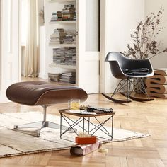 via coco lapine eames rocker gubi grashopper lamp. Black Bedroom Furniture Sets. Home Design Ideas