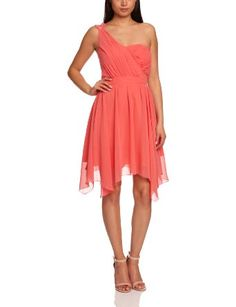 Lipsy DR06946 One-Shoulder Women's Dress