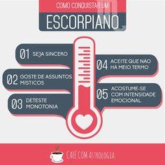 Como conquistar um escorpiano... - Café com Astrologia #escorpião #astrologia #signos #zodíaco #astrology