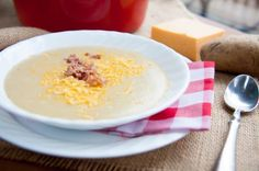 Velvety Potato Soup by Cassie Johnston Healthy Potato Soup, Healthy Potatoes, Easy Dinner Recipes, Easy Meals, Healthy Food Options, Healthy Meals, St Patricks Day Food, Recipe Search, Soups And Stews