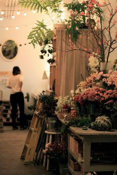 Dobbin Mews open studio holiday party....gorgeous
