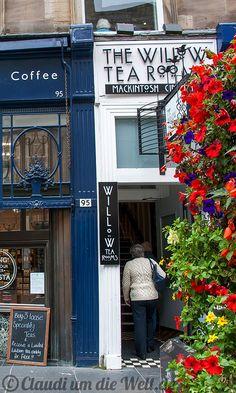 Glasgow: The Willow Tea Rooms - Mackintosh's Interior Design Work