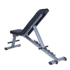 Soozier Seven-Position Adjustable Foldable Weight Bench / Home Gym adjustable folding weight bench Homemade Gym Equipment, Diy Gym Equipment, No Equipment Workout, Home Made Gym, Diy Home Gym, Gym Setup, Adjustable Weight Bench, Gym Machines, Home Gym Design