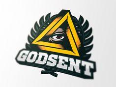 Godsent Logo by Dlanid - Dribbble