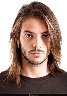cool Mens long hair styles