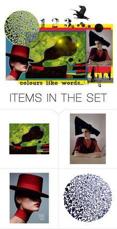 """colors like words..."" by artsdesireable ❤ liked on Polyvore featuring art and www"