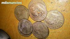 . ocho monedas de un peso M�xicanas en muy buen estado 1972, env�o a toda Espa�a por correo certificado u ordinario previo ingreso en cuenta, si eres de Santiago de Compostela te las entrego en mano, gracias