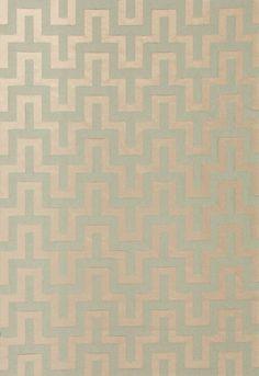 Fabric | Maubray Weave in Aqua | Schumacher