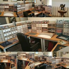 HobbyZone is a company from Poland that offers you useful items which enable you to improve your working conditions and keep the work space clean and tidy. Hobby Desk, Hobby Room, Airbrush Spray Booth, Wood Pallets, Pallet Wood, Modelista, Tool Organization, Working Area, Game Room