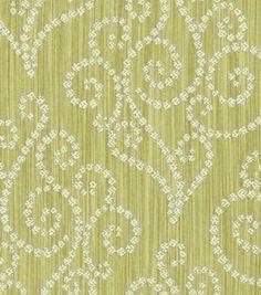 Upholstery Fabric-Waverly Synergy EucalyptusUpholstery Fabric-Waverly Synergy Eucalyptus,