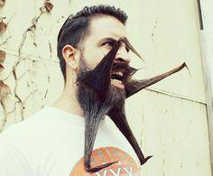 Incredibeard's Crazy Beard Styles [mrincredibeard] Crazy Beard, Epic Beard, Mens Facial, Facial Hair, Moustaches, Bart Design, Mtv, Beard Pictures, No Shave November